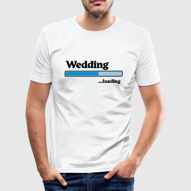 Wedding loading - Camiseta ajustada hombre