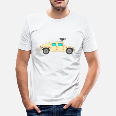 Vehicle Military vehicle - Men's Slim Fit T-Shirt