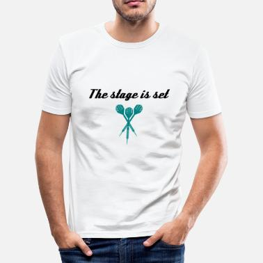 Podium Het podium is ingesteld  - slim fit T-shirt