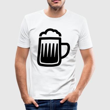 Berry beer mug - mug - Men's Slim Fit T-Shirt