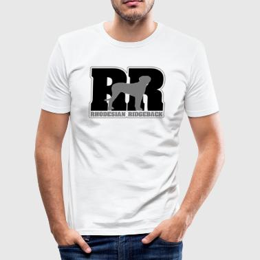 RHODESIAN RIDGEBACK RR - Men's Slim Fit T-Shirt