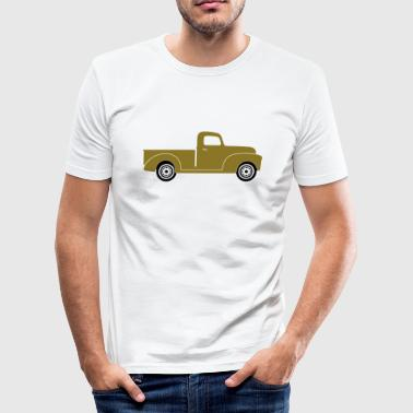 Pick-up Truck - Männer Slim Fit T-Shirt