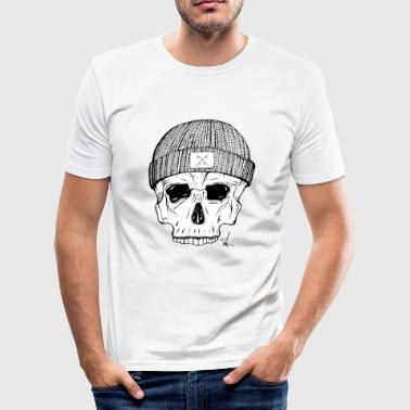 Skate Logo Skate Skull - board logo - Men's Slim Fit T-Shirt