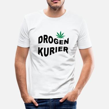 Drogen Party drogen - Männer Slim Fit T-Shirt