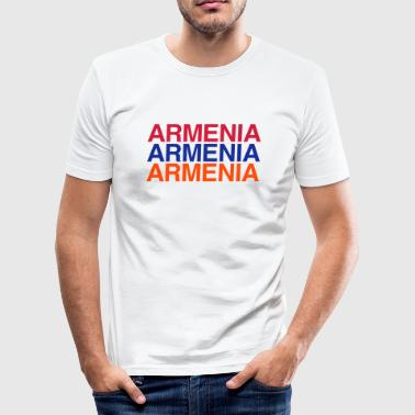 ARMENIEN - Männer Slim Fit T-Shirt