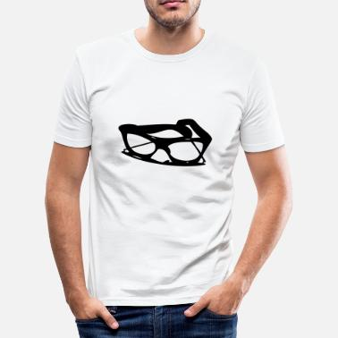 Buddy Holly buddy_glasses - Men's Slim Fit T-Shirt