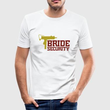 Security Team of the Bride - Men's Slim Fit T-Shirt