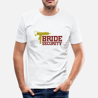 Bride Security Team Bride Security Team of the Bride - Men's Slim Fit T-Shirt
