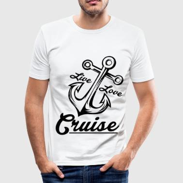cruise - Men's Slim Fit T-Shirt