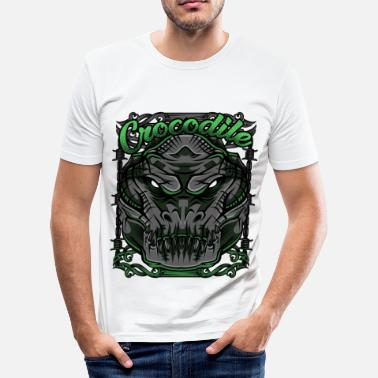 Modern Crocodile Modern - Slim fit T-shirt mænd