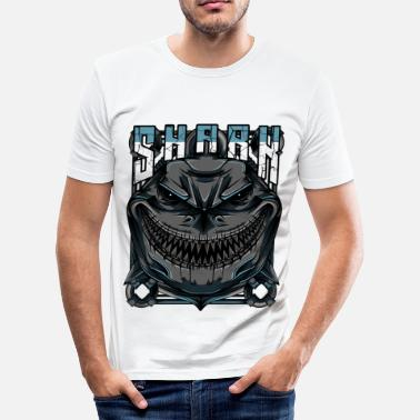 Modern Shark Modern - Slim fit T-shirt mænd
