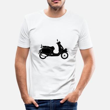 Scooter Rally Scooters / Scooter - Men's Slim Fit T-Shirt