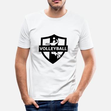 Boll volleyball - Men's Slim Fit T-Shirt