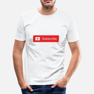 Abonneren Abonneren Abonneren Subscriber Media Gift - slim fit T-shirt