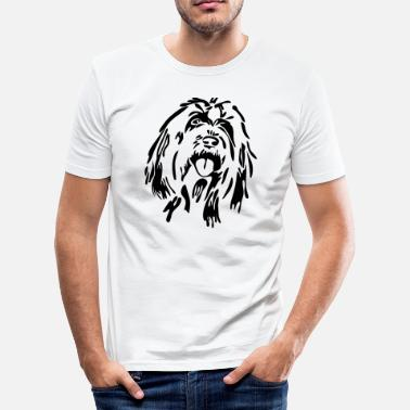 Bearded Collie Bearded Collie - T-shirt près du corps Homme