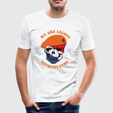 Netherlands we Are Legion - slim fit T-shirt