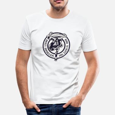 Skateboard Legend - Men's Slim Fit T-Shirt