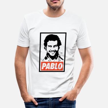 b88a73d3 Pablo Pablo Escobar Obey - Narcos - Men's Slim Fit T-