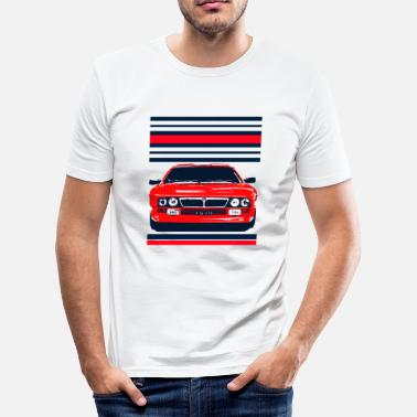 Stratos rally car - Men's Slim Fit T-Shirt