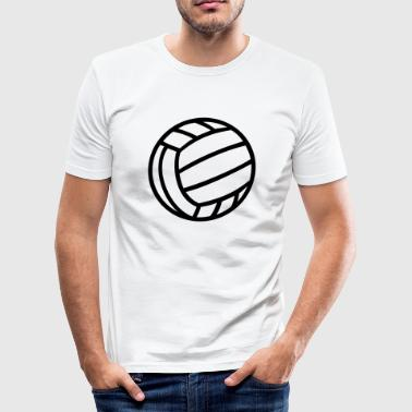 Volleybal  Volley Bal  - slim fit T-shirt