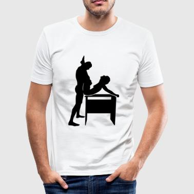 sex position - slim fit T-shirt