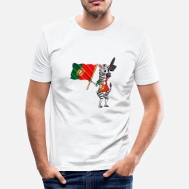 b6c43079d4 Portugues cebra portugués - Camiseta ajustada hombre