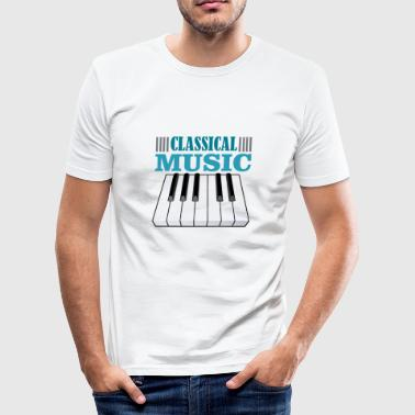 Composer Classical Music Classical music - Men's Slim Fit T-Shirt