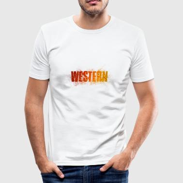 western - slim fit T-shirt