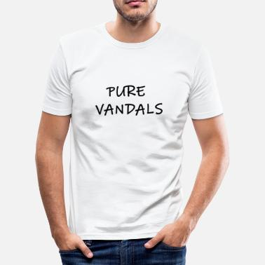 Pure Pure Vandalen - slim fit T-shirt