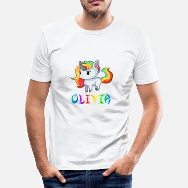 Olivia Olivia Einhorn - Slim Fit T-skjorte for menn