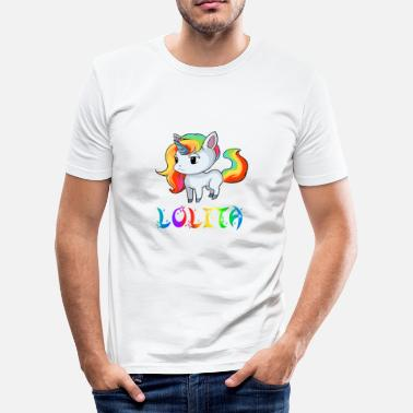 Lolita Unicorn Lolita - Men's Slim Fit T-Shirt