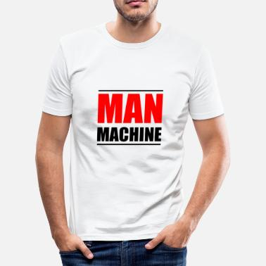 Machines MAN MACHINE - Camiseta ajustada hombre