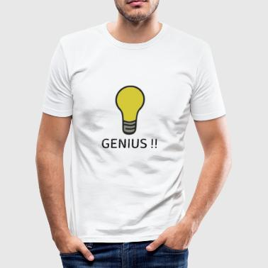 Girl Genius genius - Men's Slim Fit T-Shirt