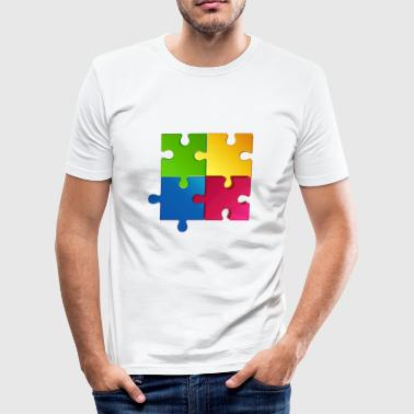 puzzel - slim fit T-shirt