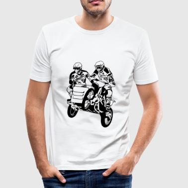 Sidecar Moto Cross - Men's Slim Fit T-Shirt