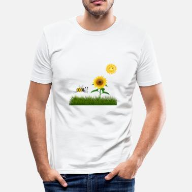Weide zomer weide - slim fit T-shirt