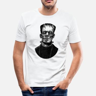 Scary Movie Frankenstein - Men's Slim Fit T-Shirt