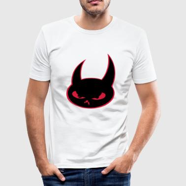 Deville Devil - Herre Slim Fit T-Shirt
