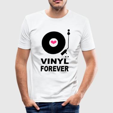 Vinyl Forever T-shirt - Men's Slim Fit T-Shirt