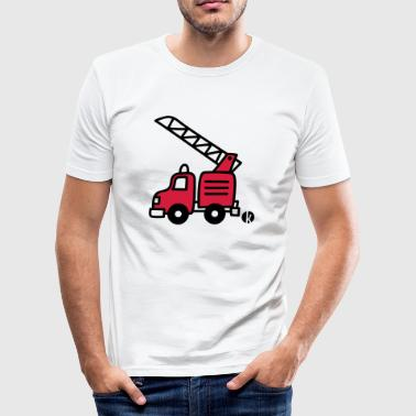 Feuerwehrauto (c) - Fire Truck - Men's Slim Fit T-Shirt