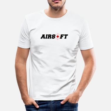 Airsoft airsoft - softair - Männer Slim Fit T-Shirt