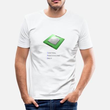 Cpu CPU - centrale verwerkingseenheid - slim fit T-shirt