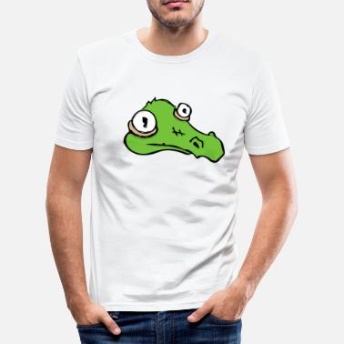 Krokodille crock - Herre Slim Fit T-Shirt