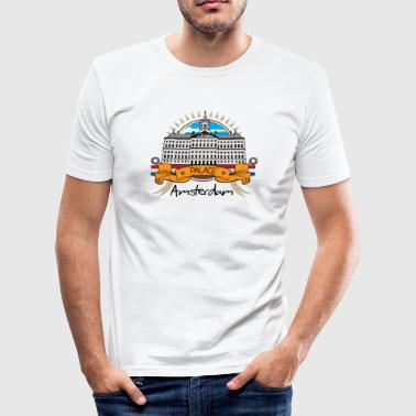Palace Amsterdam - Men's Slim Fit T-Shirt