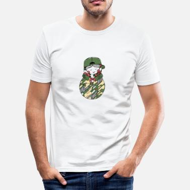Bundeswehr Bundeswehr Matryoshka - Men's Slim Fit T-Shirt