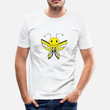 Emostyle Butterfly läskigt monster emo barn gåva - Slim Fit T-shirt herr