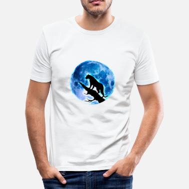 Vollmond Vollmond - Männer Slim Fit T-Shirt
