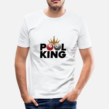 Pool Pool king - T-shirt moulant Homme