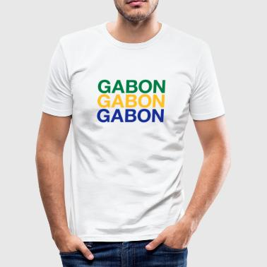 Gabon GABON - Men's Slim Fit T-Shirt