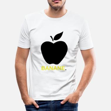 Sex Banana Banana or apple? - Men's Slim Fit T-Shirt